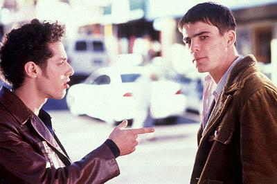 Paulo Costanzo and Josh Hartnett in Miramax's 40 Days and 40 Nights