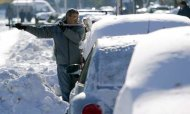 Six Die As Freezing 'Beast' Hits Balkans