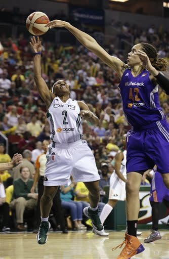 Wright, Little lead Storm past Griner, Mercury