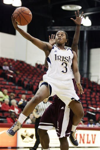 No. 5 Notre Dame women cruise past Alabama A&M