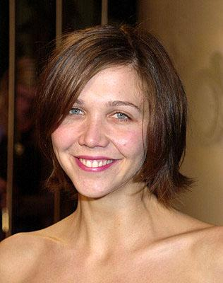 Maggie Gyllenhaal at the Hollywood premiere of Donnie Darko