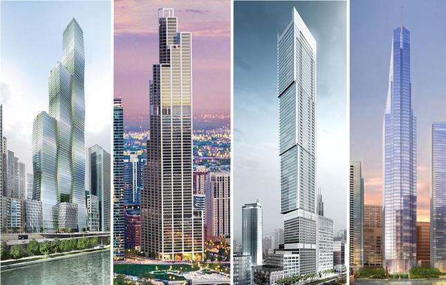 The New Class of Skyscrapers That Will Forever Change the Chicago Skyline