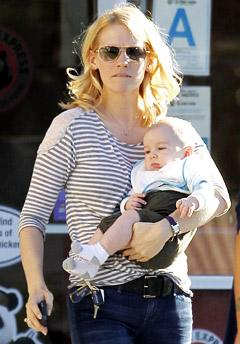 NEW PIC: See January Jones' Son Xander, 5 Months!