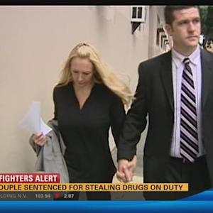 Cop couple sentenced for stealing, selling drugs on duty