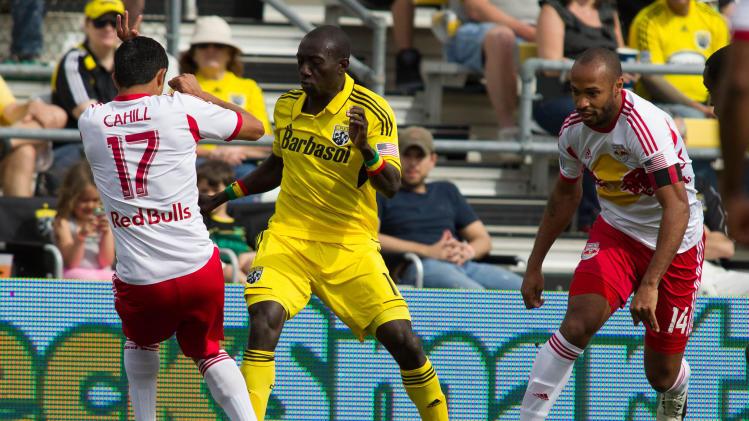 MLS: New York Red Bulls at Columbus Crew