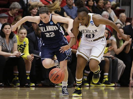 Michigan beats Villanova, moves on in NCAA tourney