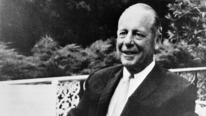"""FILE - In this undated file photo, Jim Thompson smiles shortly before he disappeared. Thompson mysteriously disappeared while going for a walk on Easter Sunday, March 26, 1967 in the Cameron Highlands of Malaysia. It's the cloak and dagger stuff, rather than the glitz and glamor, that's the focus of a recent book """"The Ideal Man: The Tragedy of Jim Thompson and the American Way of War"""" by Joshua Kurlantzick, an author on Asian affairs with the New York-based Council on Foreign Relations. (AP Photo/File)"""