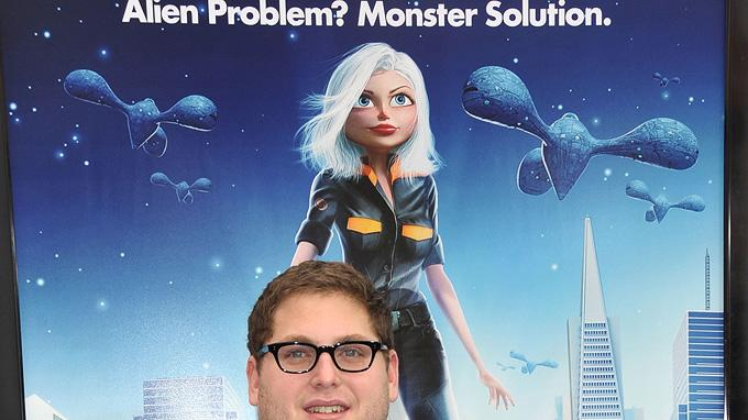 Monsters vs Aliens LA Premiere 2009 Jonah Hill