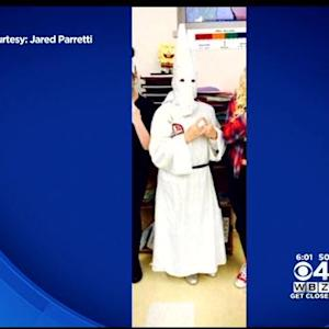 Student Apologizes For Wearing KKK Costume To Worcester School