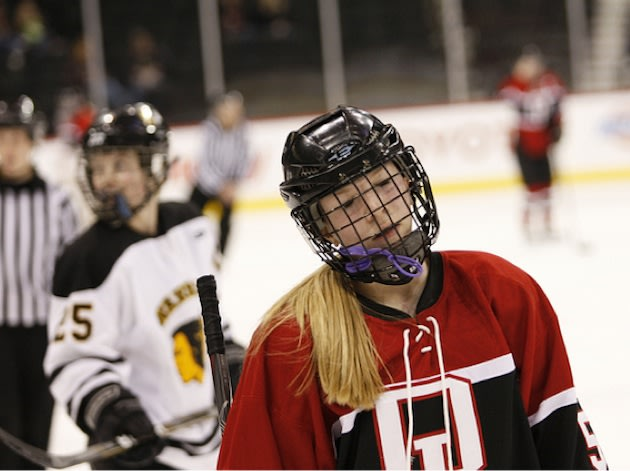 Warroad and Detroit Lakes face off in a state quarterfinal — Flickr/Imageri