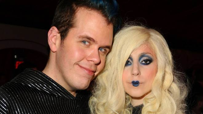 Perez Hilton and Lady Gaga in happier times.