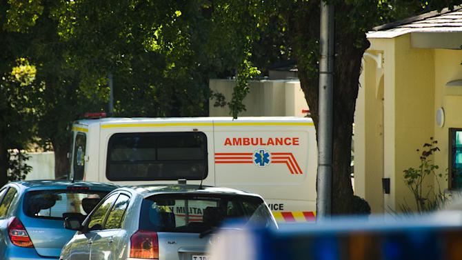 "An ambulance believed to be transporting former president Nelson Mandela arrives at the home of Mandela in Johannesburg, Saturday, April 6, 2013. The South African Presidency has confirmed that  Mandela has been discharged after spending nine days in hospital in Pretoria. Spokesman Mac Maharaj says the elder statesman was discharged, ""following a sustained and gradual improvement in his general condition,"" and thanked all South Africans and people around the world for their support. He says Mandela will now receive home based high care. Mandela was admitted to hospital on March 27 with pneumonia. Since then the 94-year-old former statesman has had fluid drained from his lungs to ease his breathing. (AP Photo)"