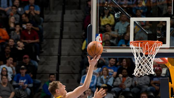 Pierce scores 18, Nets rebound in rout of Nuggets