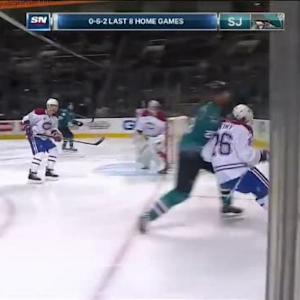 John Scott Hit on Jeff Petry (02:28/1st)