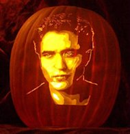 Robert Pattinson pumpkin