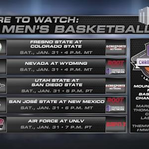 Where To Watch MW Men's Basketball 1/31/15