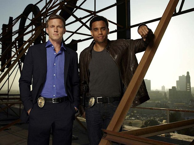 Warren Kole as Wes and Michael Ealy as Travis in &quot;Common Law.&quot; 