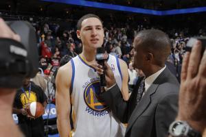 Lee, Thompson help Warriors beat Mavericks 100-97