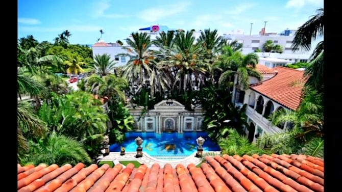 Versace's Miami mansion to go on the auction block