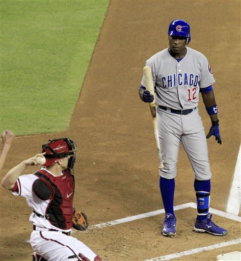 Diamondbacks open series with 6-1 win over Cubs
