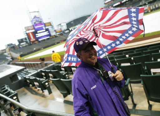 Diamondbacks-Rockies game rained out