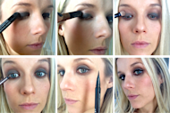 Five Minutes to Daytime Smoky Eyes