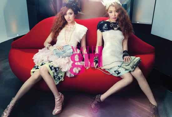 Chanel Handpicks SNSD′s Jessica and Tiffany as Models
