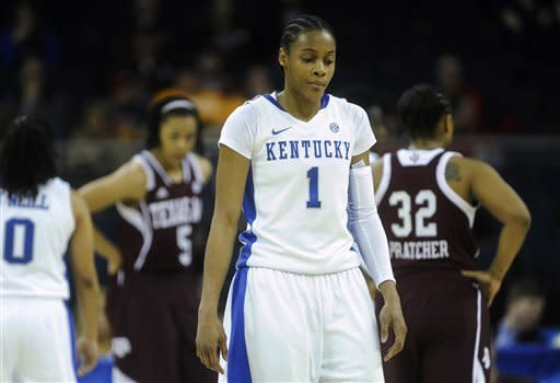 Bone, Texas A&M top Kentucky 75-67 in SEC final