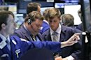 US budget, development hopes send shares, euro higher