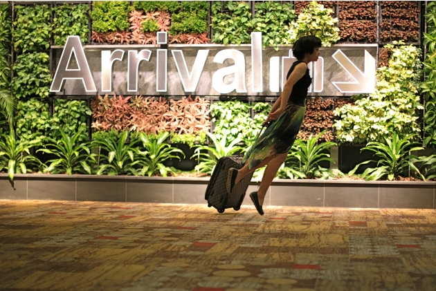 FLY through Singapore's Changi Airport