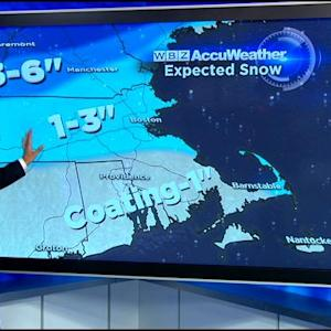 WBZ AccuWeather Afternoon Forecast For March 12