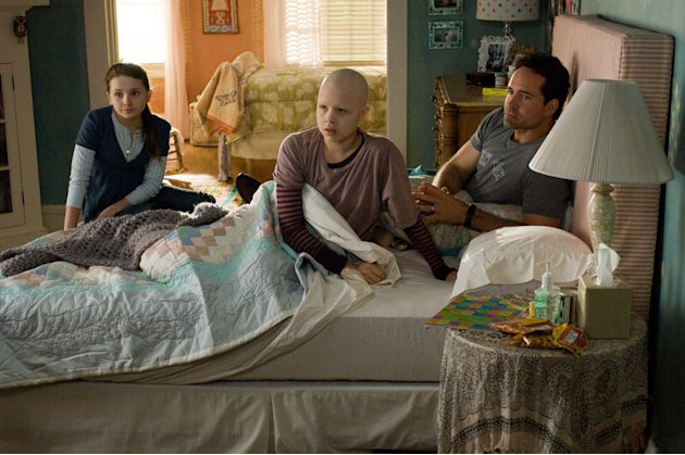 Abigail Breslin Sofia Vassilieva Jason Patric My Sister's Keeper Production Stills New Line 2009