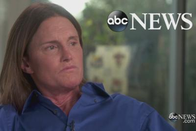 Why Diane Sawyer referred to Bruce Jenner with male pronouns