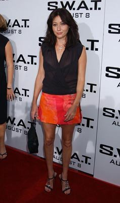 Premiere: Shannen Doherty at the LA premiere of S.W.A.T. - 7/30/2003 Gregg DeGuire, Wireimage.com