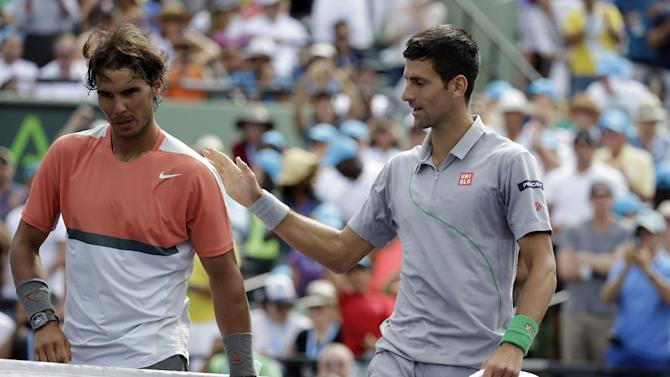 Djokovic looks to maintain edge over rival Nadal