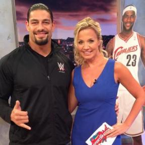 Michelle Beadle Shares Her Love For The WWE