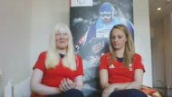"Speaking on Skype, Paralympic gold medal winners Kelly Gallagher and guide Charlotte Evans say it was ""amazing"" to win gold at Sochi."