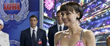 Christina Ricci as Trixie in Warner Bros. Pictures' Speed Racer