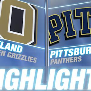 Oakland vs Pittsburgh | 2014-15 ACC Men's Basketball Highlights