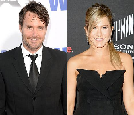 Jennifer Aniston Coached Will Forte Through His Breakup