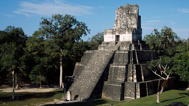 Mayan Temple Damaged by Parties (ABC News)