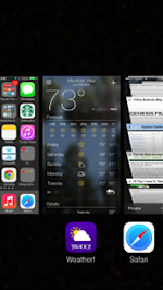 How To Close Apps On iPhone iOS 7 image 2013 09 27 14.35.54 169x300