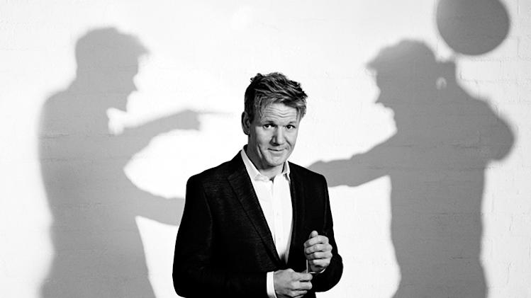 Gordon Ramsay in Emmy Magazine