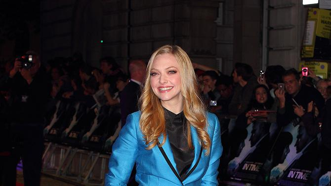 In Time UK Premiere 2011 Amanda Seyfried
