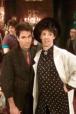 Eric McCormack and Sean Hayes on NBC's Will and Grace