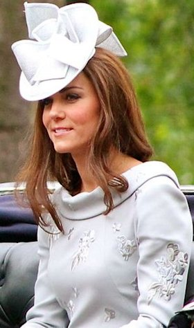Kate Middleton (Duchess Catherine) often re-wears outfits in public.
