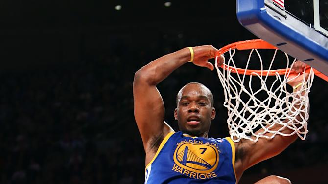 NBA: Golden State Warriors at New York Knicks