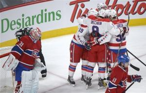 Capitals bounce back for 5-1 win over Canadiens