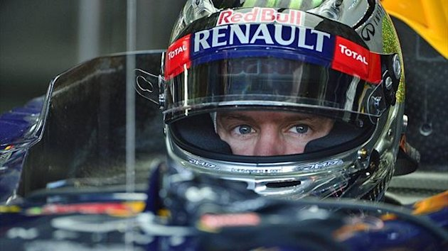Die WM im Visier: Red-Bull-Pilot Sebastian Vettel