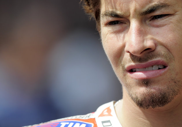 Ducati Team's US Nicky Hayden is picture